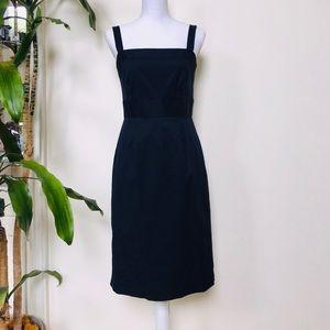 J Crew Navy Blue Sheath Dress